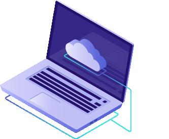 Computer model icon